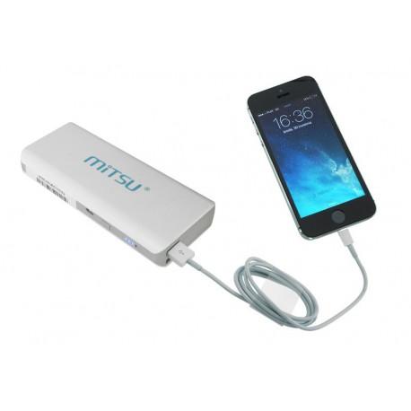 akumulator / bateria  przenośna MITSU PowerBank SOLO 5 - 10400 mAh