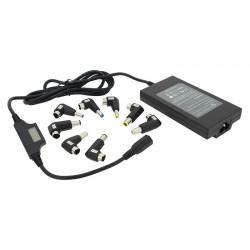 ładowarka / zasilacz  movano uniwersalny 90w - 8 wtyków UWAGA : WERSJA Z LCD