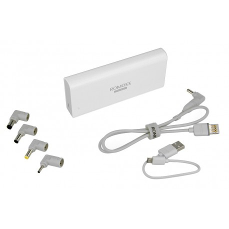 akumulator / bateria  przenośna do laptopa ROMOSS PowerBank SOFUN 4 - 10400 mAh (Latarka LED)