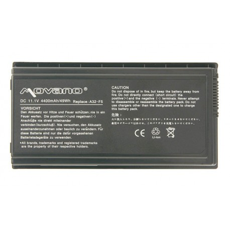akumulator / bateria  movano Asus F5, X50
